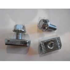 Channel nut and bolt kit