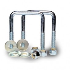 RT Series 2 Inch Square U-Bolt Kit