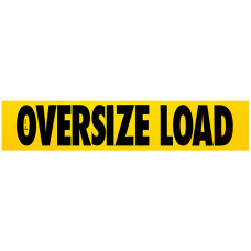 Magnetic 12 x 60 Oversize Load Sign