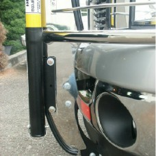 High Pole Mounting Tube for Brushguard Drivers Side