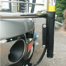 High Pole Mounting Tube for Brushguard Passenger Side