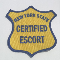 NY Certified Escort Patch