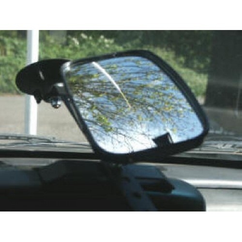 High Pole Suction Cup Mirror